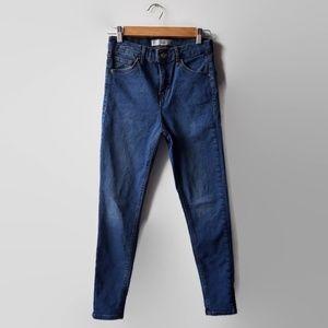 Topshop Moto Jamie Skinny Jeans 28